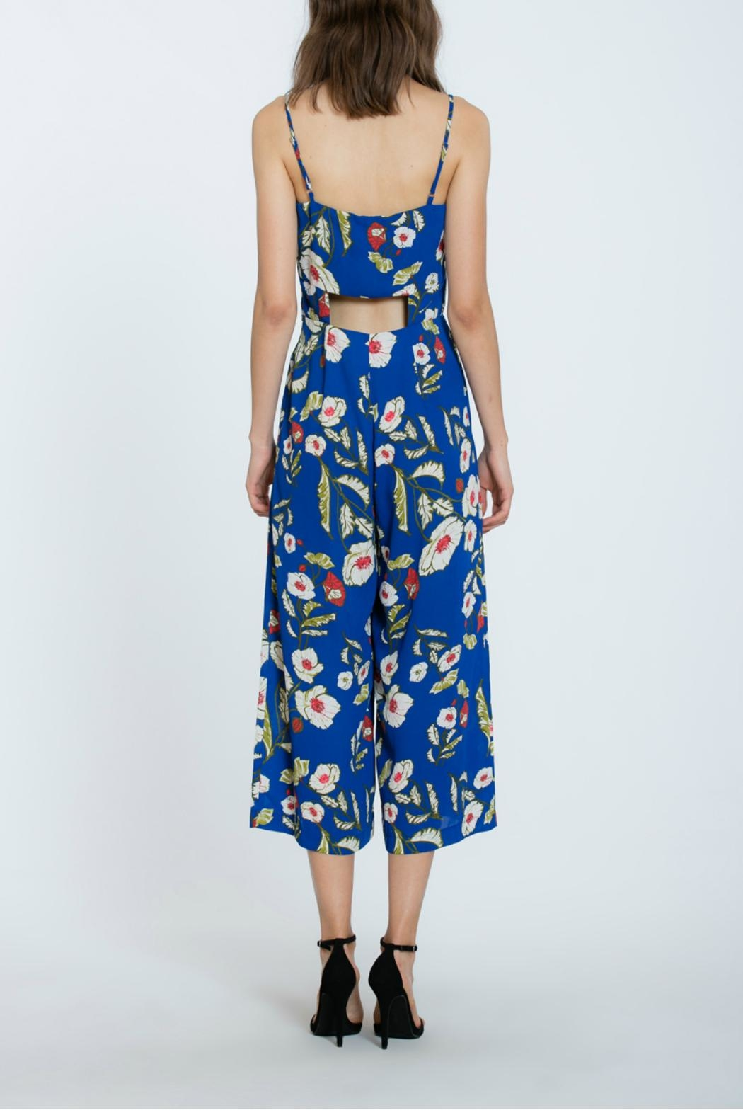 The Room Floral Long Romper - Side Cropped Image