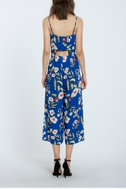 The Room Floral Long Romper - Side cropped