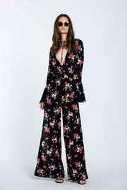 The Room Floral Maxi Romper - Side cropped