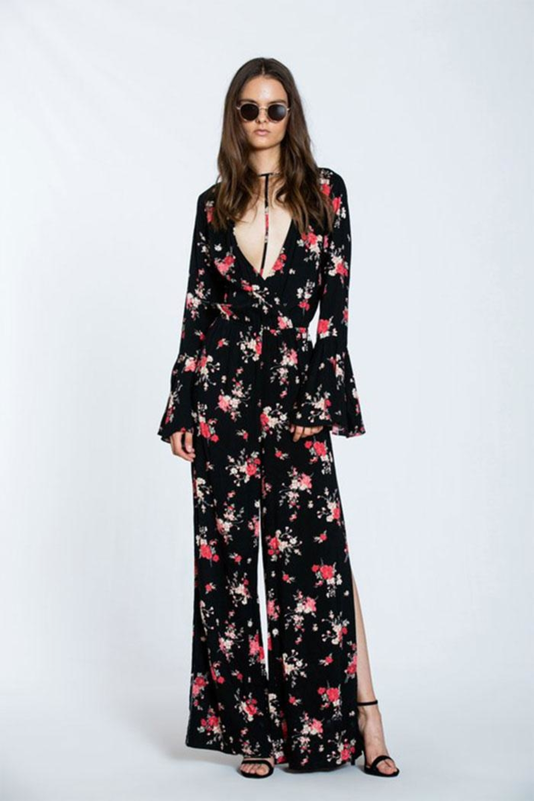The Room Floral Maxi Romper - Main Image