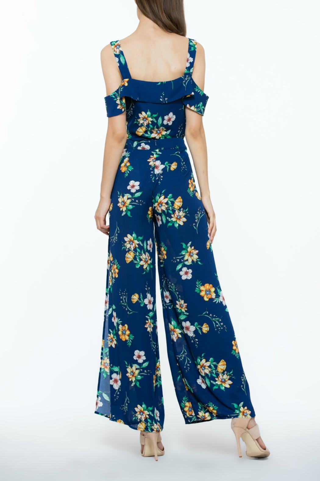 The Room Flower Long Pants - Front Full Image