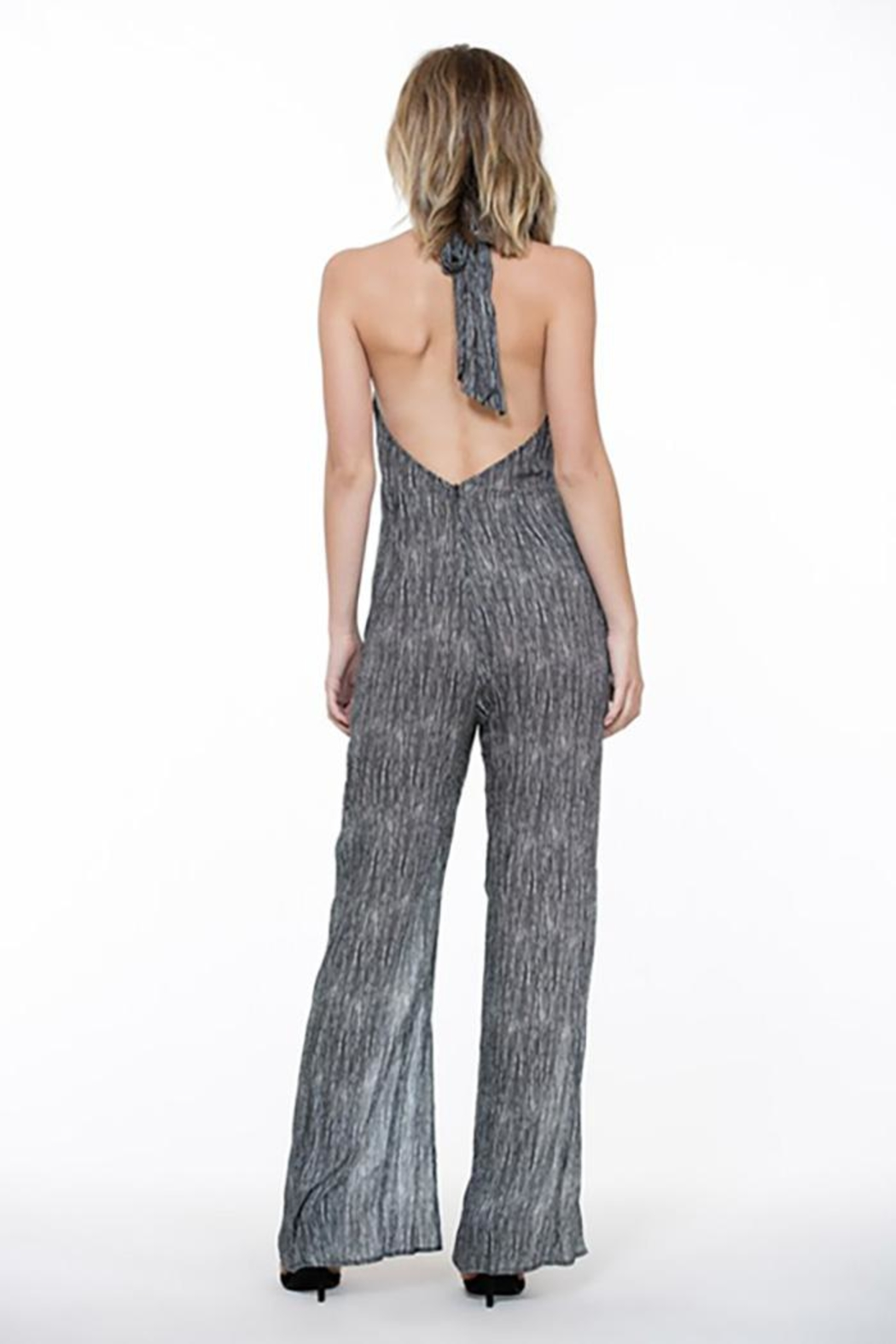 The Room Halter Neck Jumpsuit - Front Full Image