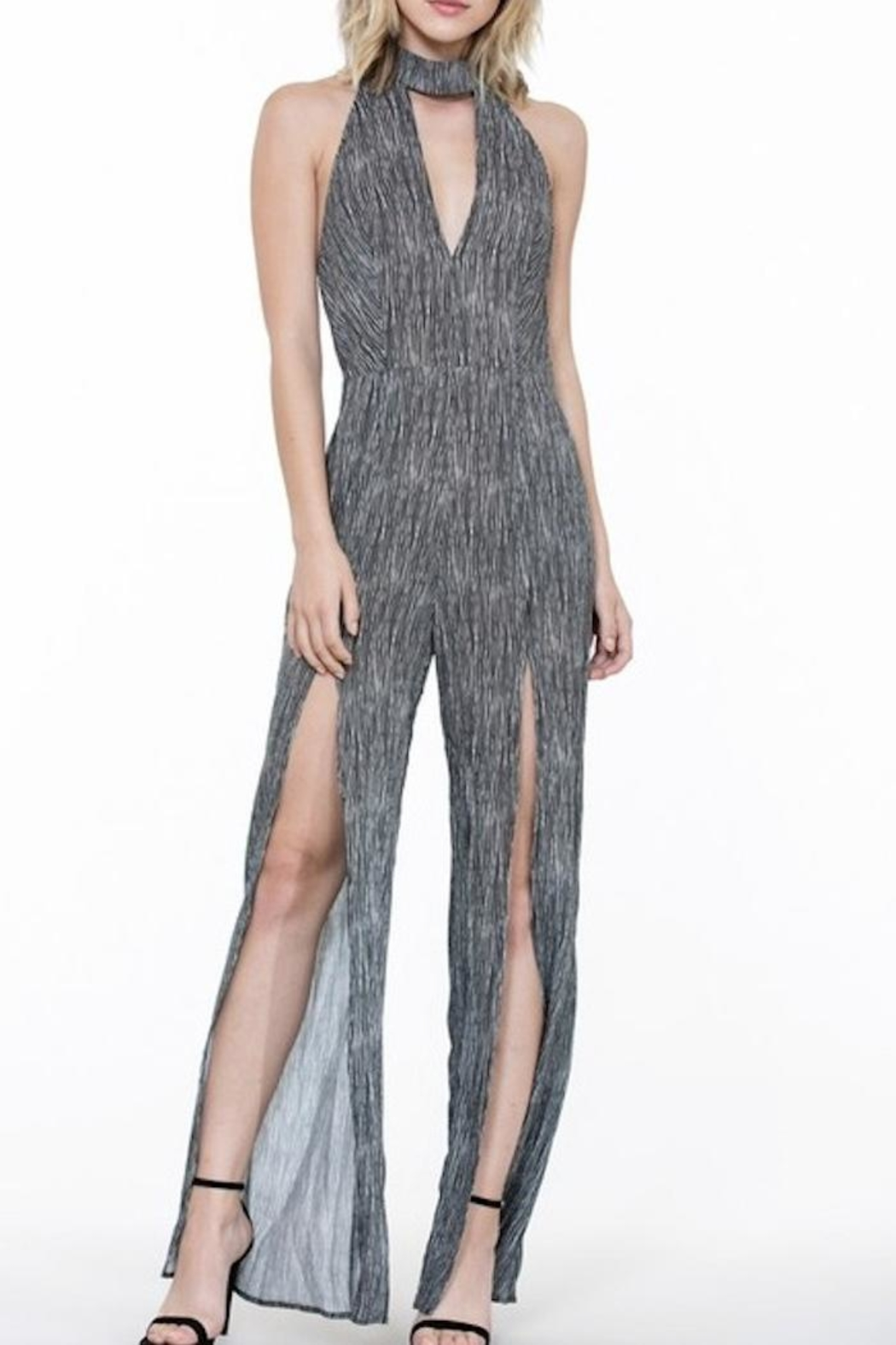 The Room High Neck Jumpsuit - Main Image