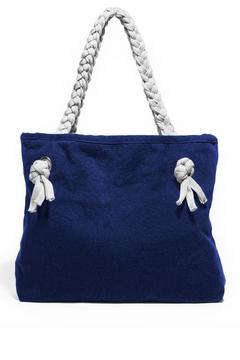 The Root Collective Handwoven Lago Tote - Alternate List Image