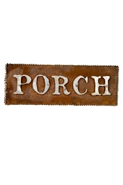 The Round Top Collection Rustic Porch Sign - Product Mini Image