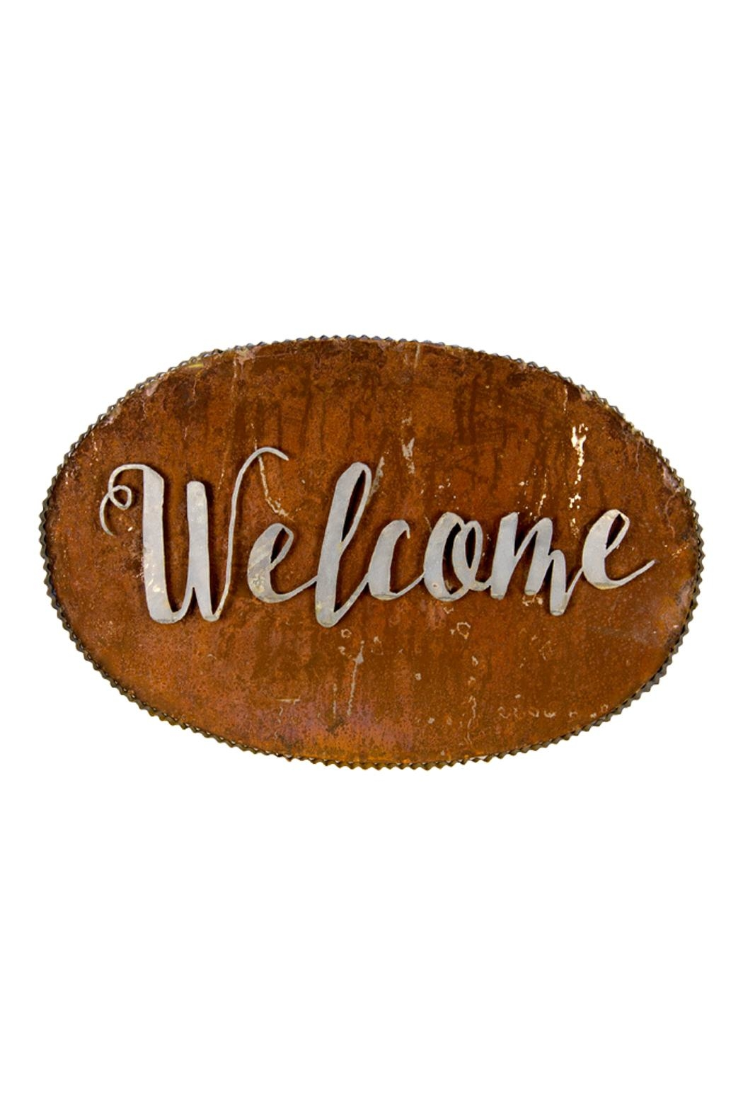 The Round Top Collection Rustic Welcome Sign - Main Image