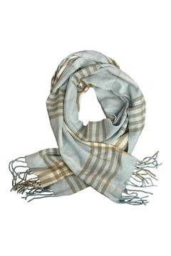 Shoptiques Product: Sky Taupe Scarf