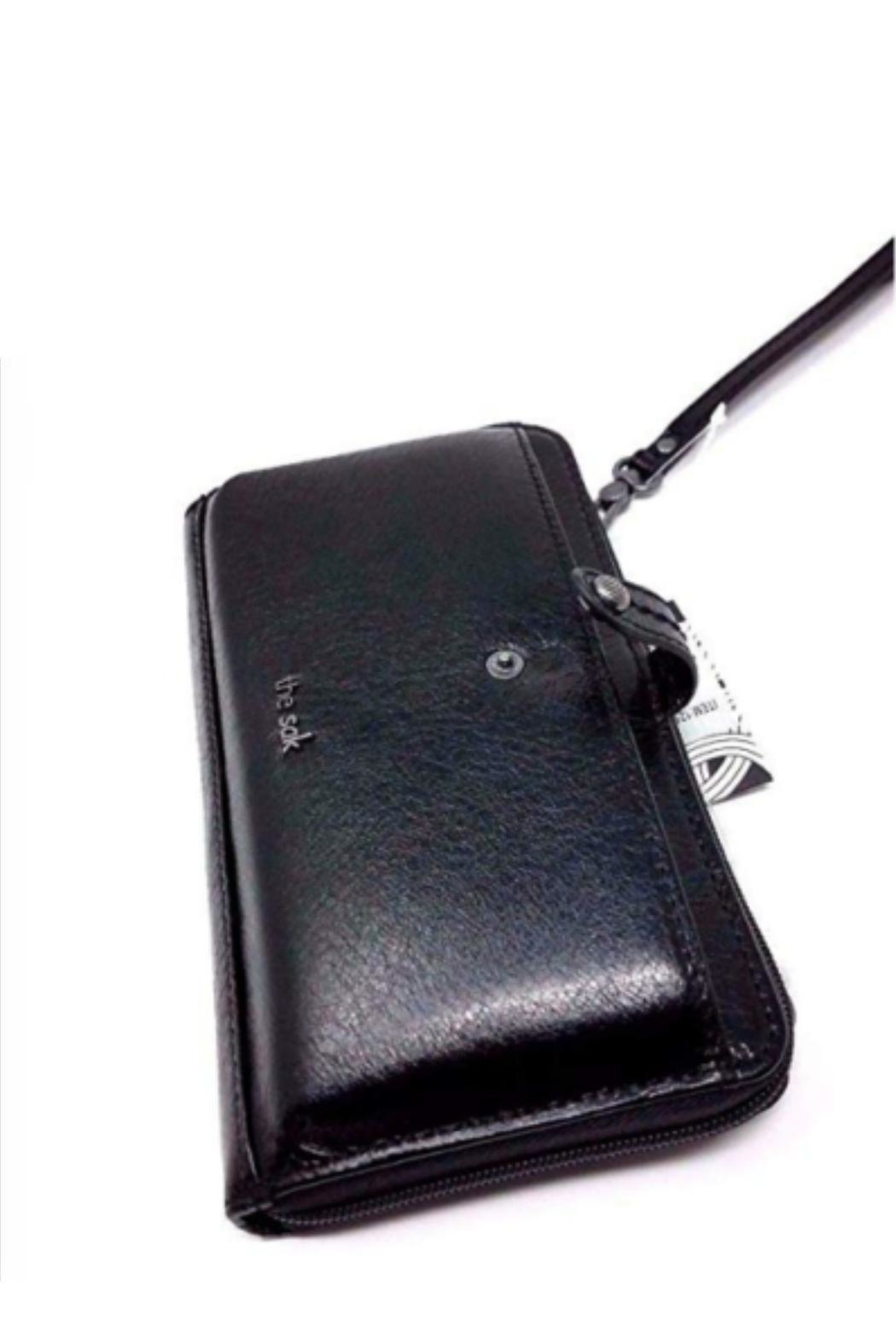 The Sak 3-In-1 Leather Wallet - Side Cropped Image