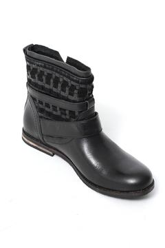 Shoptiques Product: Black Leather Bootie
