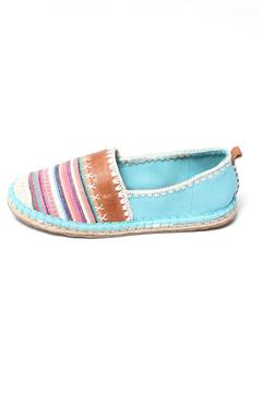 Shoptiques Product: Ella Colorblock Espadrille