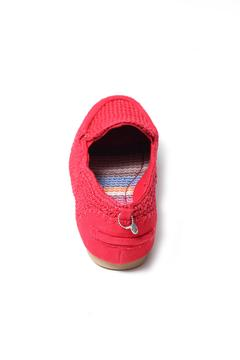 Shoptiques Product: Tomato Crochet Slip-On