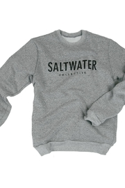 The Saltwater Collective Saltwater Crew - Grey - Front cropped