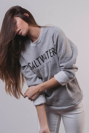 The Saltwater Collective Saltwater Crew - Grey - Side cropped