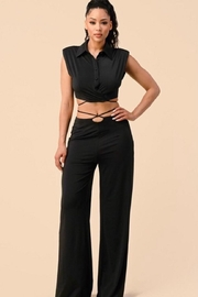 The Sang Black Pants Set - Product Mini Image
