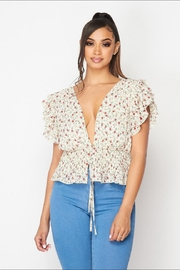 The Sang Floral Top - Product Mini Image