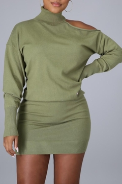 The Sang Ready For Autumn Sweater Dress - Alternate List Image
