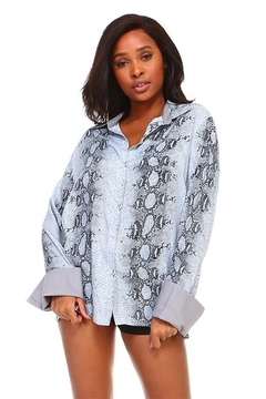 Shoptiques Product: Rollover Cuff Top