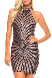 The Sang Sequin  Dress - Product Mini Image