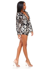 The Sang Sequin Shorts Set - Front full body