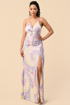 The Sang Tie-Dye Maxi Dress - Product List Image