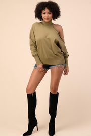 The Sang Turtleneck Sweater Top - Product Mini Image