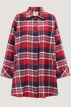 Shoptiques Product: Checked Swing Jackets