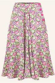 The Seamstress of Bloomsbury Isabelle Printed Skirt - Product Mini Image