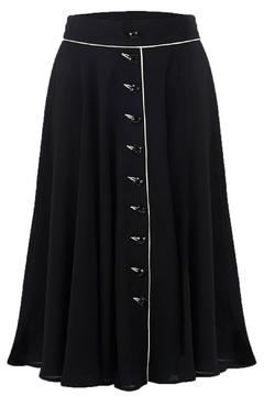 The Seamstress of Bloomsbury Rita Skirt Black - Product List Image