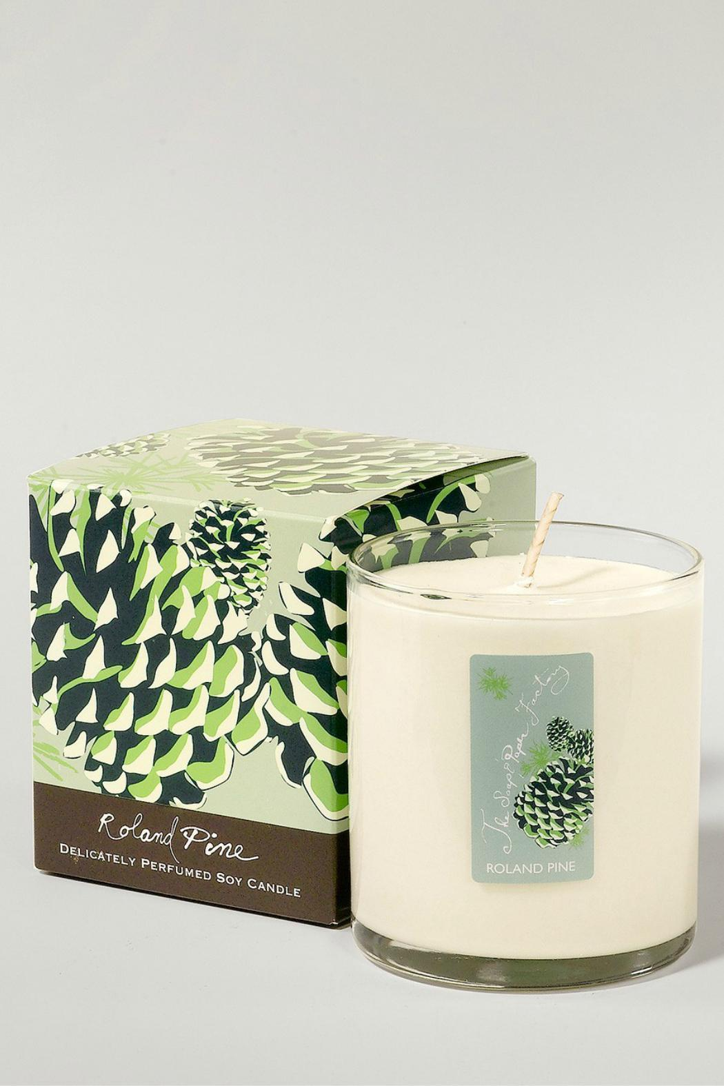 The Soap and Paper Factory Pine Soy Candle - Main Image