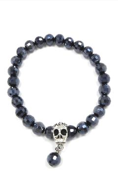 Shoptiques Product: Metallic Skull Bracelet
