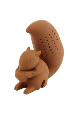 Shoptiques Product: Brown Squirrel Tea Strainer