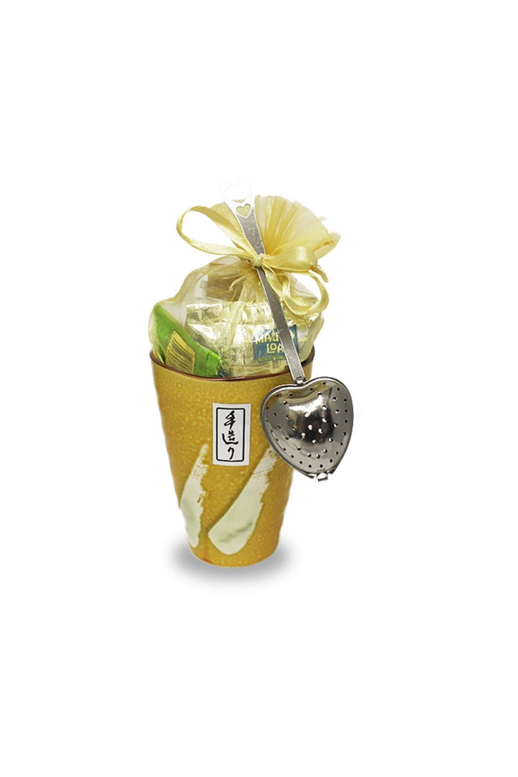 The Tea Farm Loose-Tea Canary Gift-Cup - Front Cropped Image
