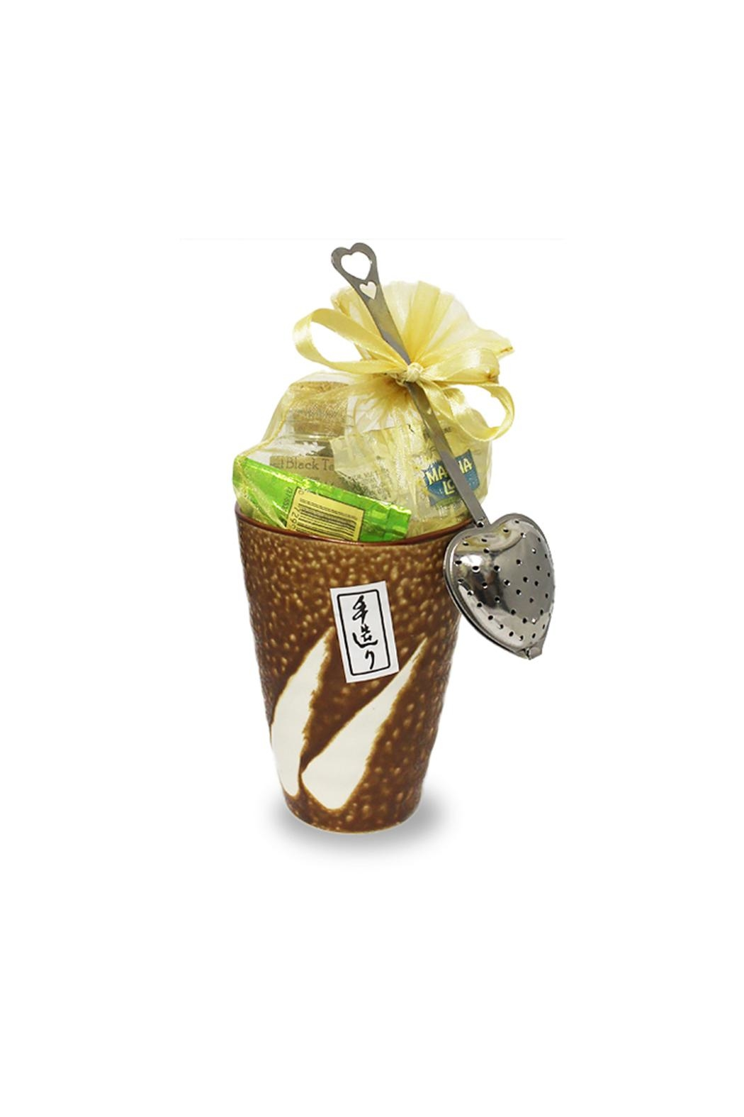 The Tea Farm Loose-Tea Chocolate Gift-Cup - Front Cropped Image