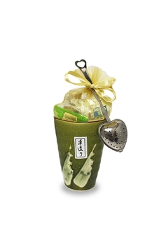 Shoptiques Product: Loose-Tea Olive Gift-Cup