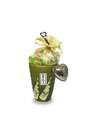 The Tea Farm Loose-Tea Olive Gift-Cup - Product Mini Image