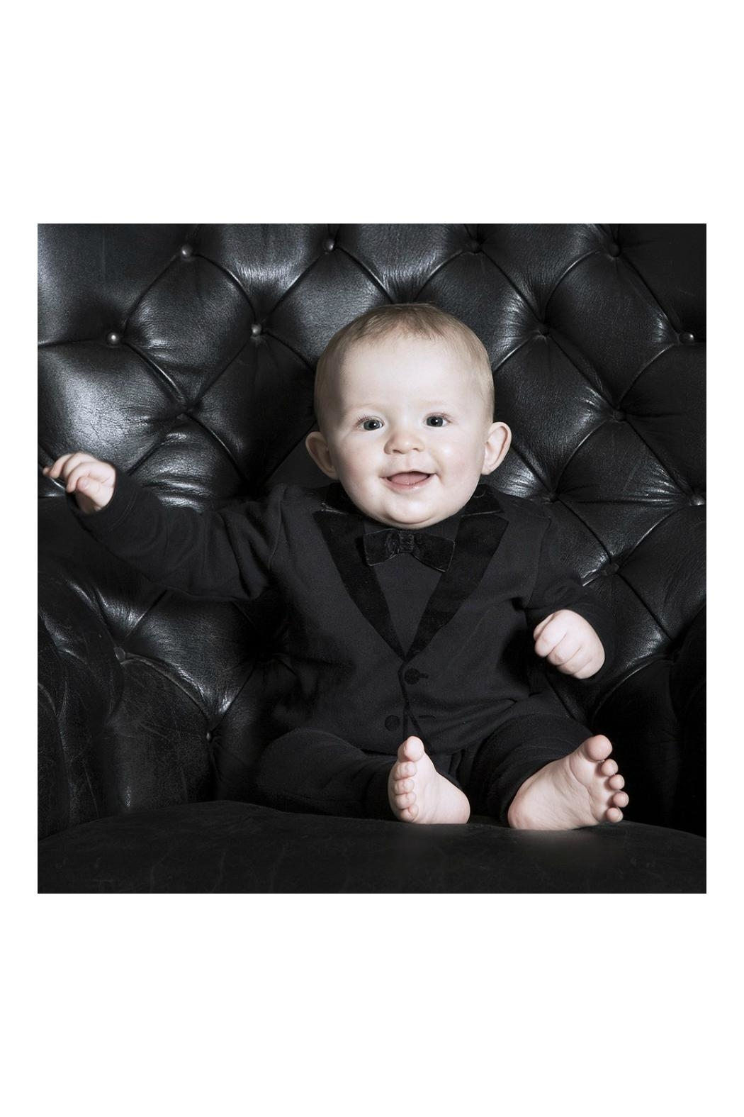 THE TINY UNIVERSE Velvet Tuxedo Black - Side Cropped Image