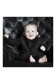 THE TINY UNIVERSE Velvet Tuxedo Black - Side cropped