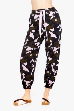 The Upside Forest Camo Track Pant - Product List Image