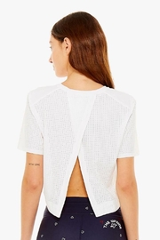 The Upside Lara Cropped Tee - Front cropped