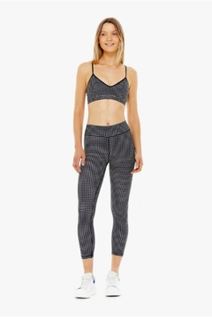 The Upside Gingham Midi Pant - Alternate List Image