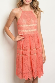 The Vintage Shop Coral Nude Dress - Product Mini Image