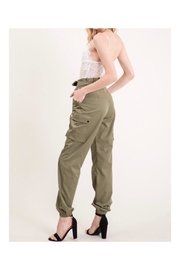 The Vintage Shop Lace/cargo Jumpsuit - Front full body