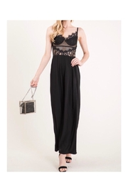 The Vintage Shop Lace Top Jumpsuit - Front full body