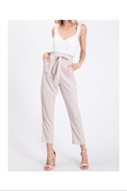 The Vintage Shop Ruffled Strap Jumpsuit - Front cropped