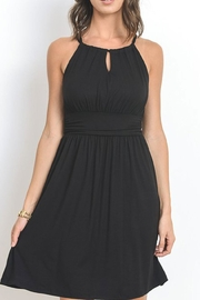 The Vintage Valet Black Halter Sundress - Product Mini Image