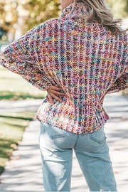 The Vintage Valet Colorful Knit Sweater - Front full body