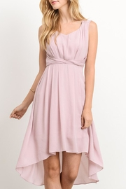 The Vintage Valet Dusty Rose Dress - Product Mini Image