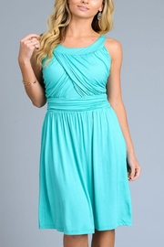The Vintage Valet Jade Sundress - Front cropped