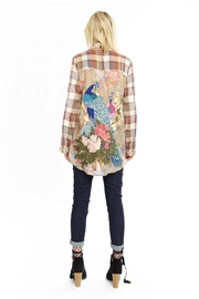 The Vintage Valet Plaid Peacock Shirt - Product Mini Image
