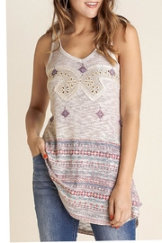 The Vintage Valet Rhinestone Tanktop - Product Mini Image